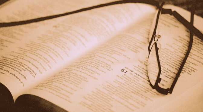 Worship Matters Part Two:  True Worship Begins with the Bible